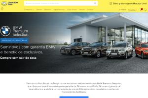 BMW abre a primeira loja oficial de veículos no Mercado Livre